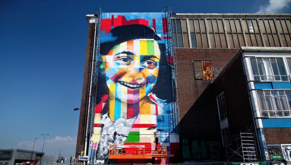 Anne Frank NDSM Amsterdam