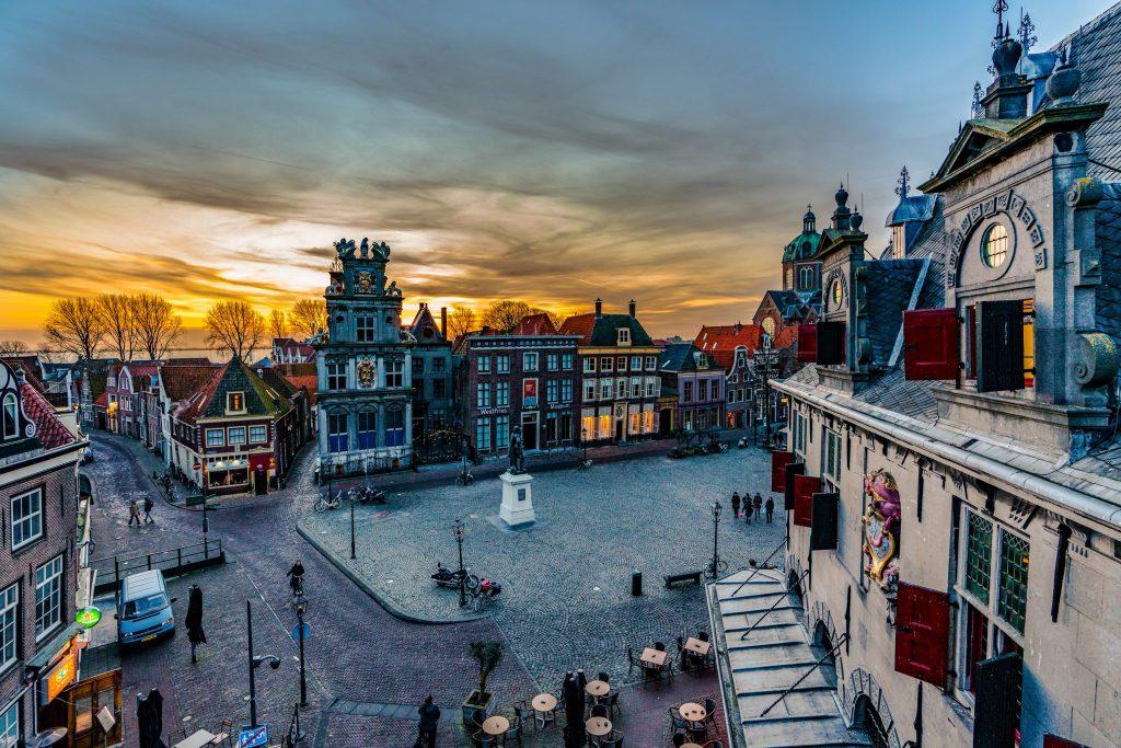 Hoorn. Steden rondom Amsterdam