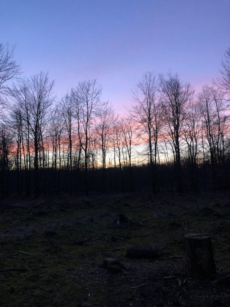 zonsondergang drenthe