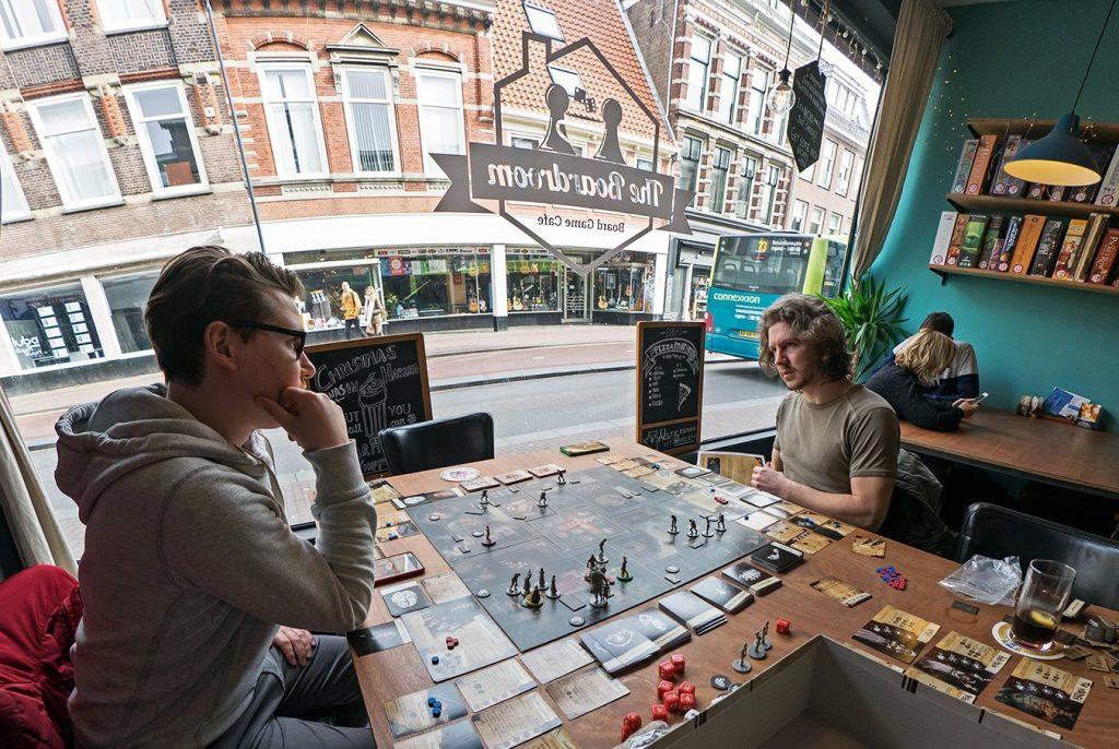 spelletjescafe the boardroom Haarlem Den Haag